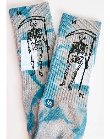 La Muerte Crew Socks