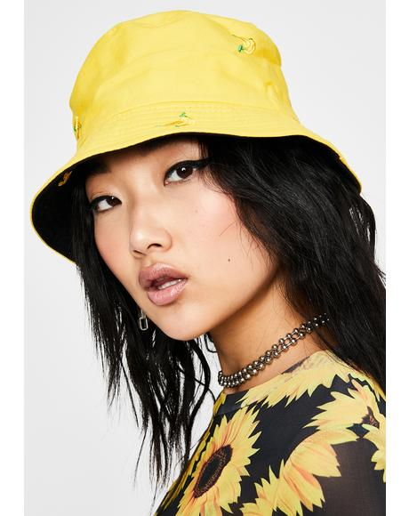 Go Bananas Reversible Bucket Hat