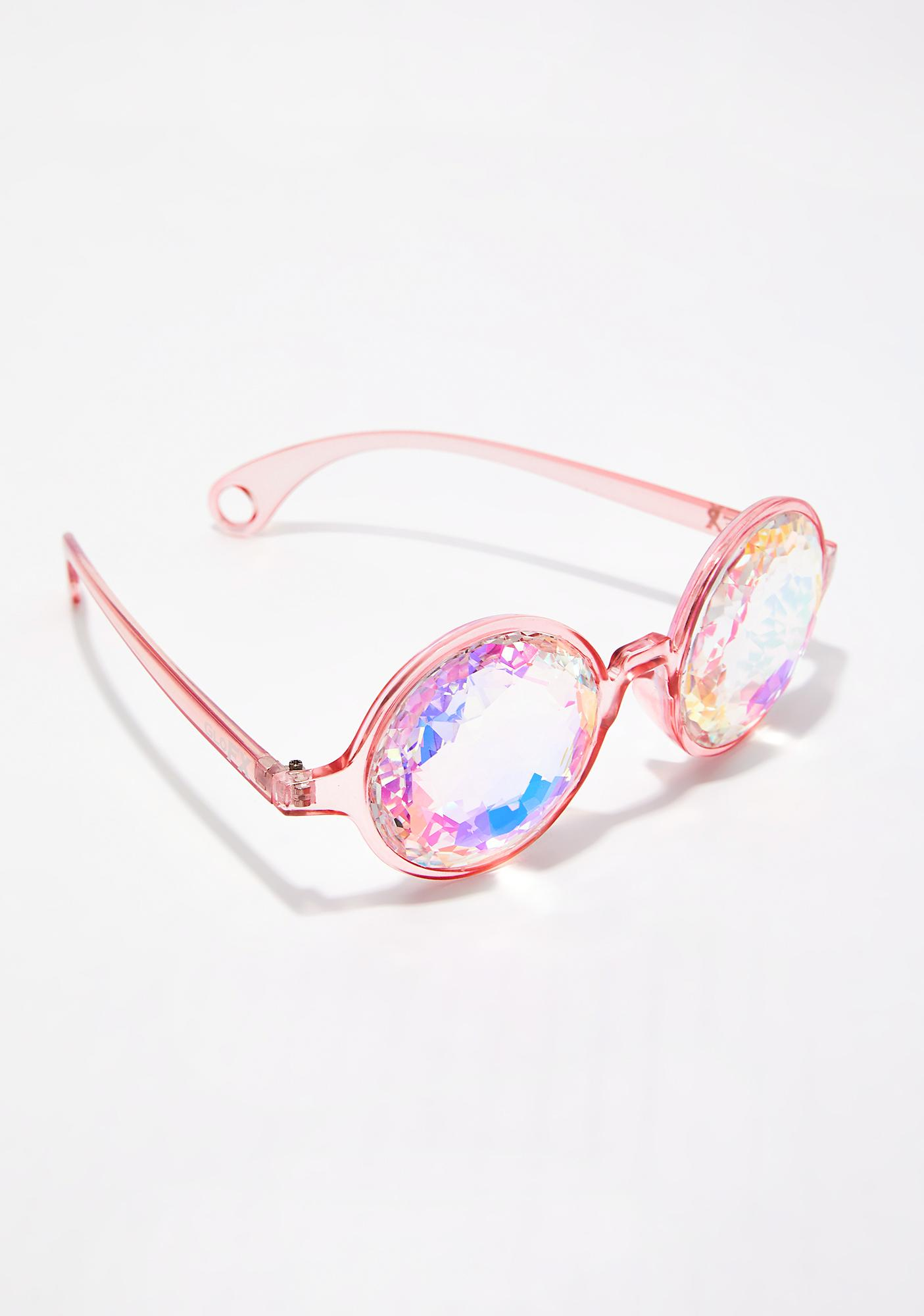 GloFX Rainbow Kaleidoscope Glasses