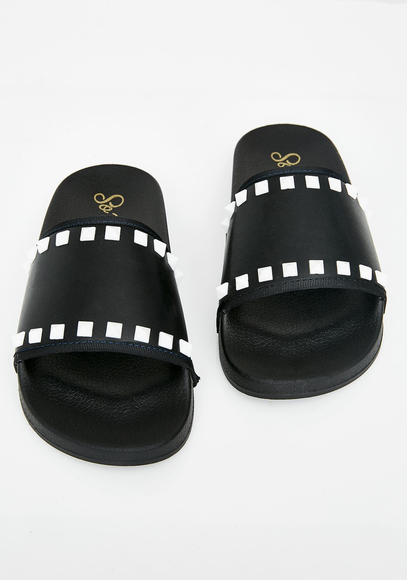 Hellblazer Studded Slides