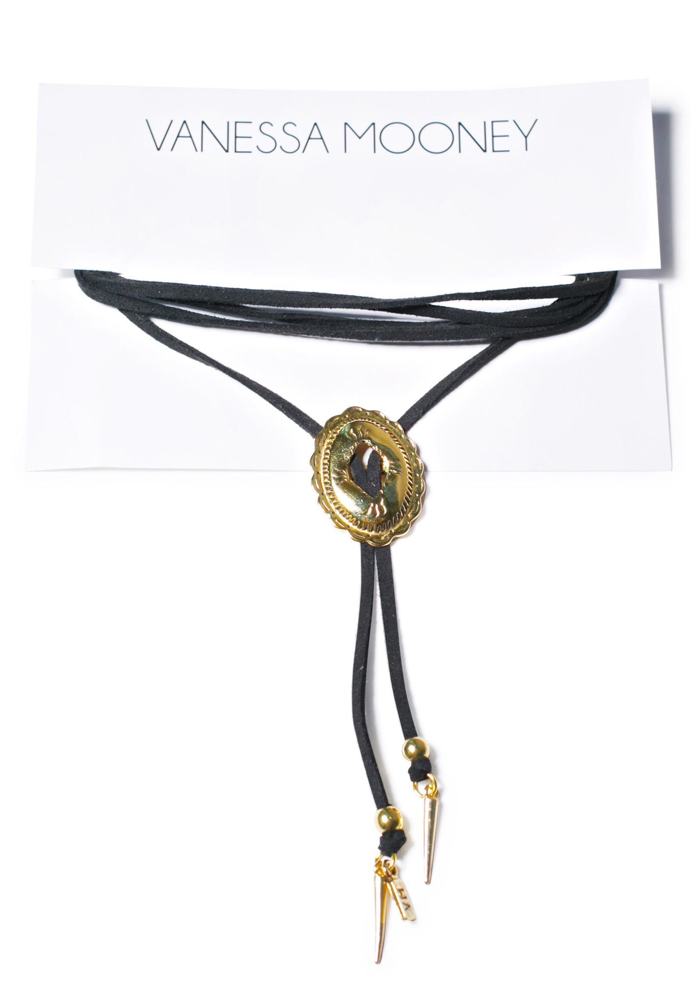 Vanessa Mooney Mess Around Concho Wrap Choker