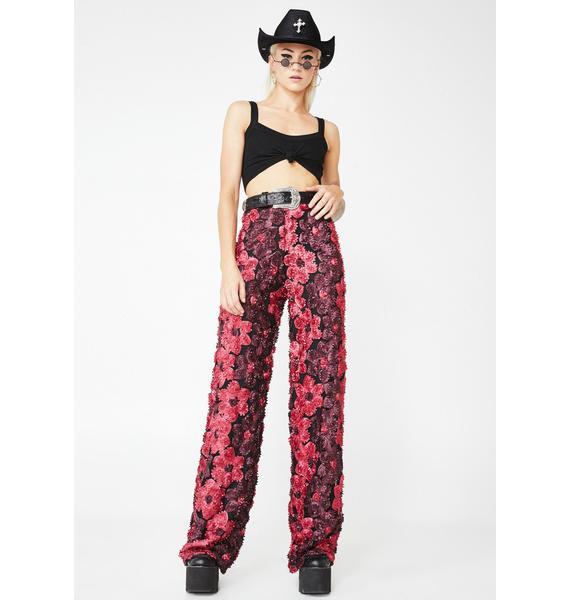 Kiki Riki Floral Glory Wide Leg Trousers