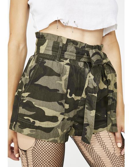Deadly Trooper Camo Shorts
