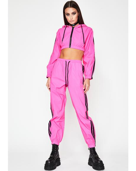 Undeniable Energy Reflective Pant Set