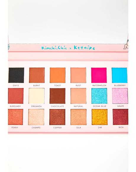 X Ketnipz Rainbow Sharts Eyeshadow Palette