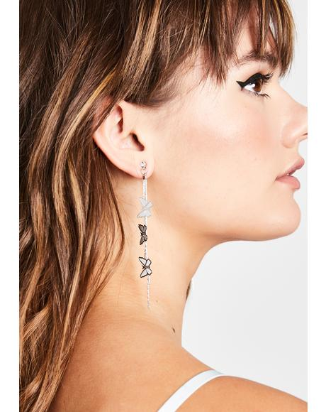 Float Away Drop Earrings