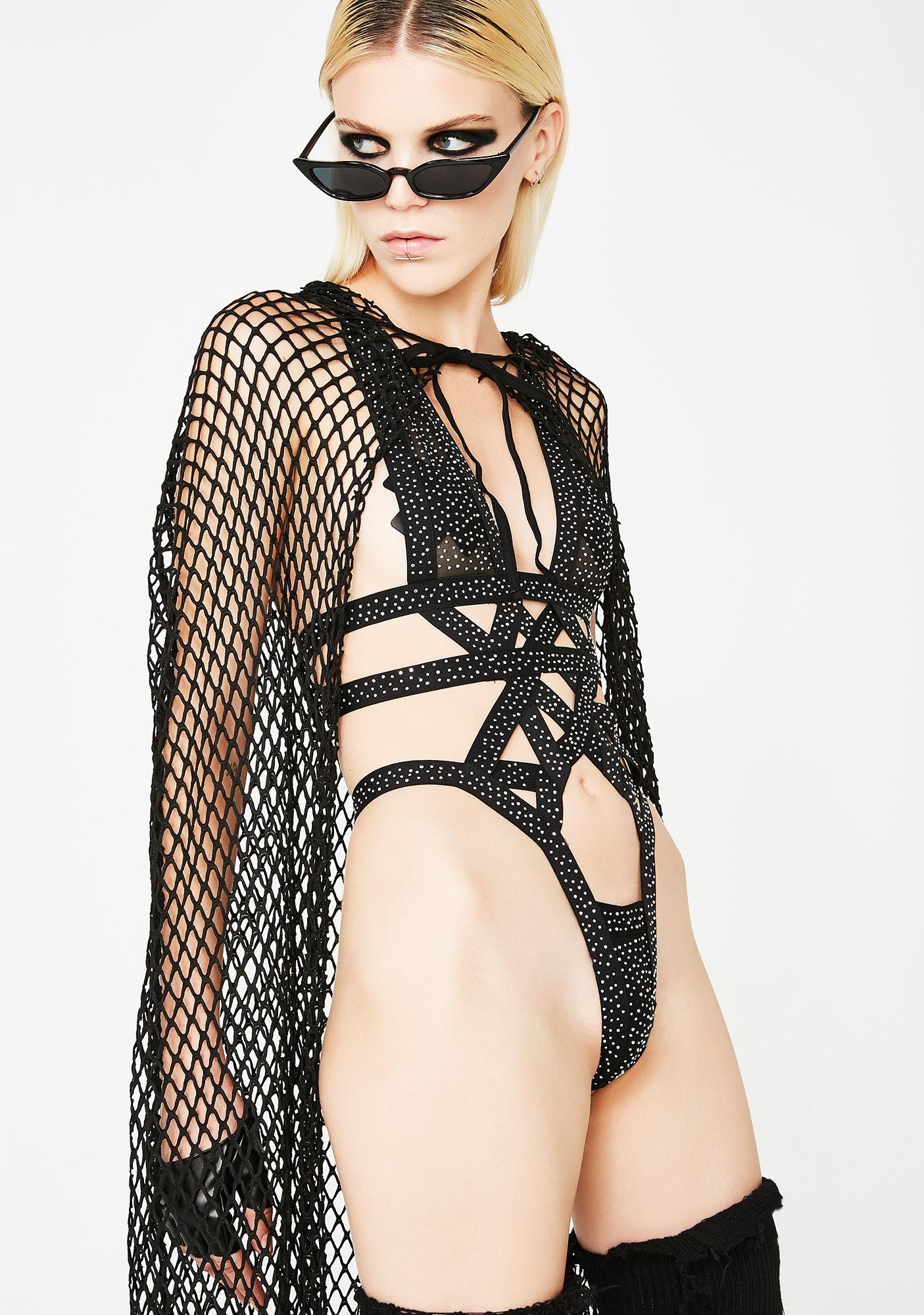 Kiki Riki Glam Warrior Strappy Bodysuit