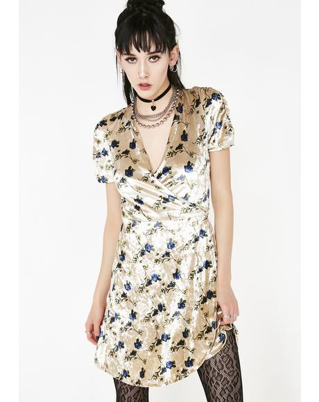 Good Intentionz Wrap Dress