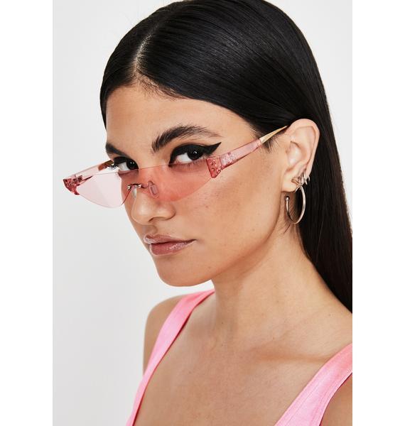 Baby Sleek Chic Cat Eye Sunglasses