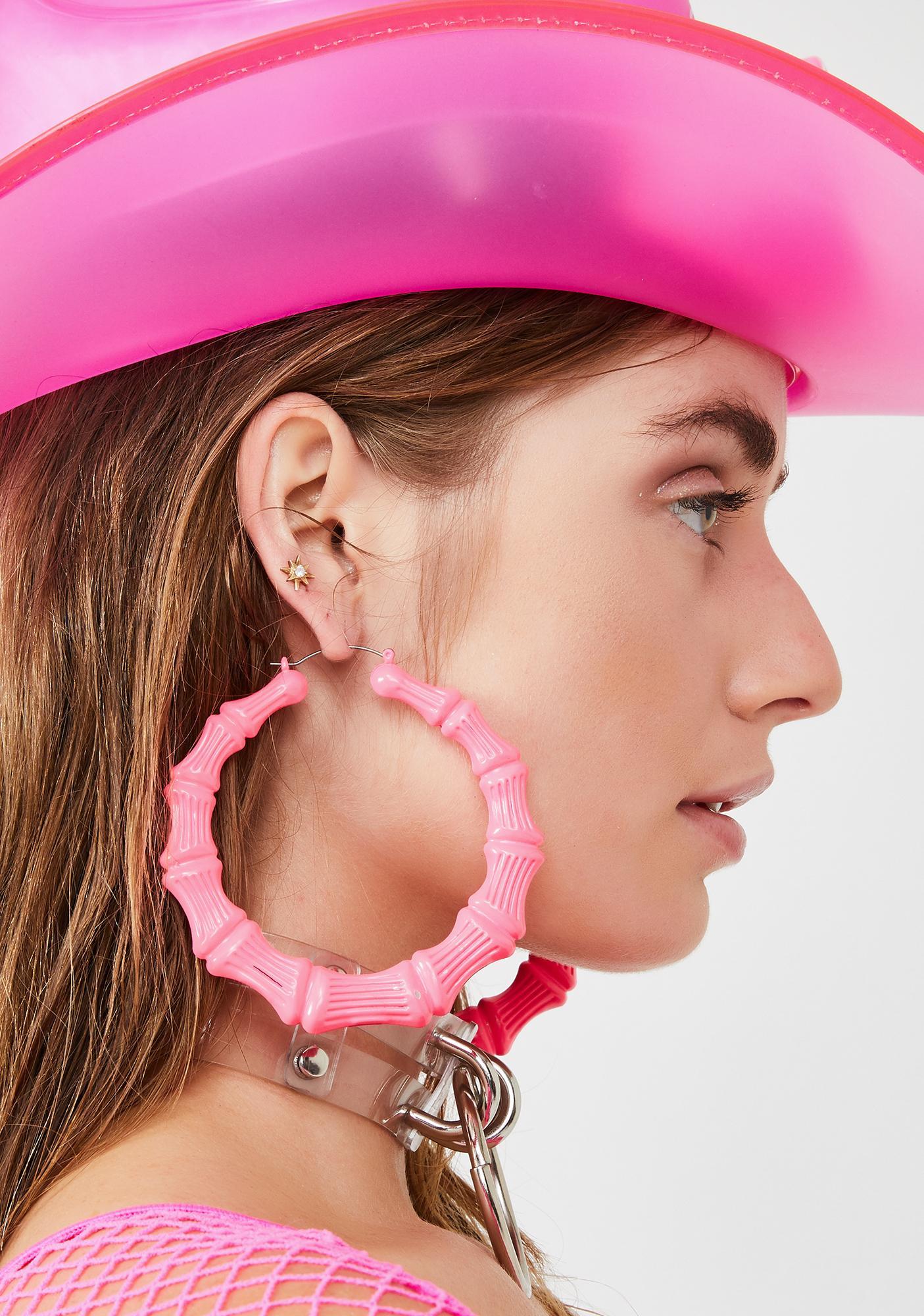 Baby Uptempo Heaux Bamboo Earrings