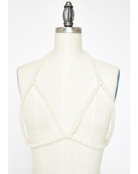 Thru The Back Pearl Harness