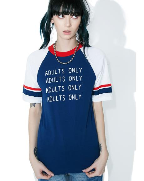 Adults Only Vintage Tee