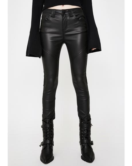 Nocturnal Coated Jeans