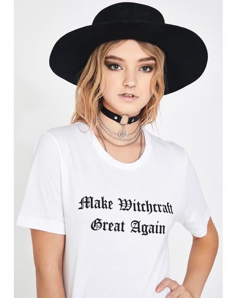 Make Witchcraft Great Again Graphic Tee