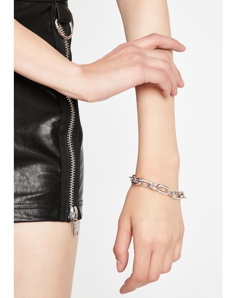 Rocker Punk Chain Bracelet