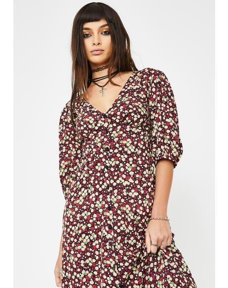 Floral Rigita Maxi Dress