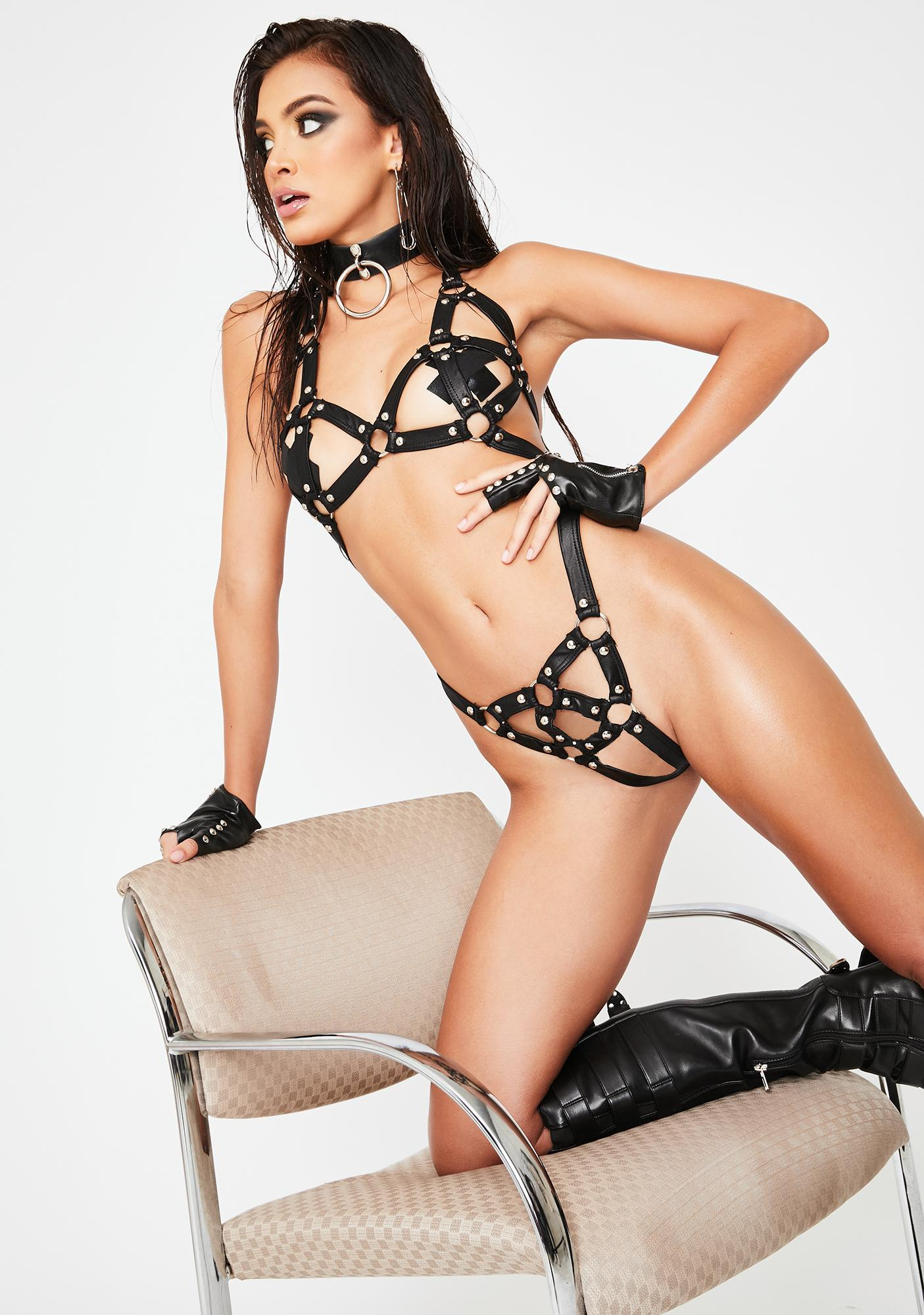 Explicit Chaos Lingerie Set