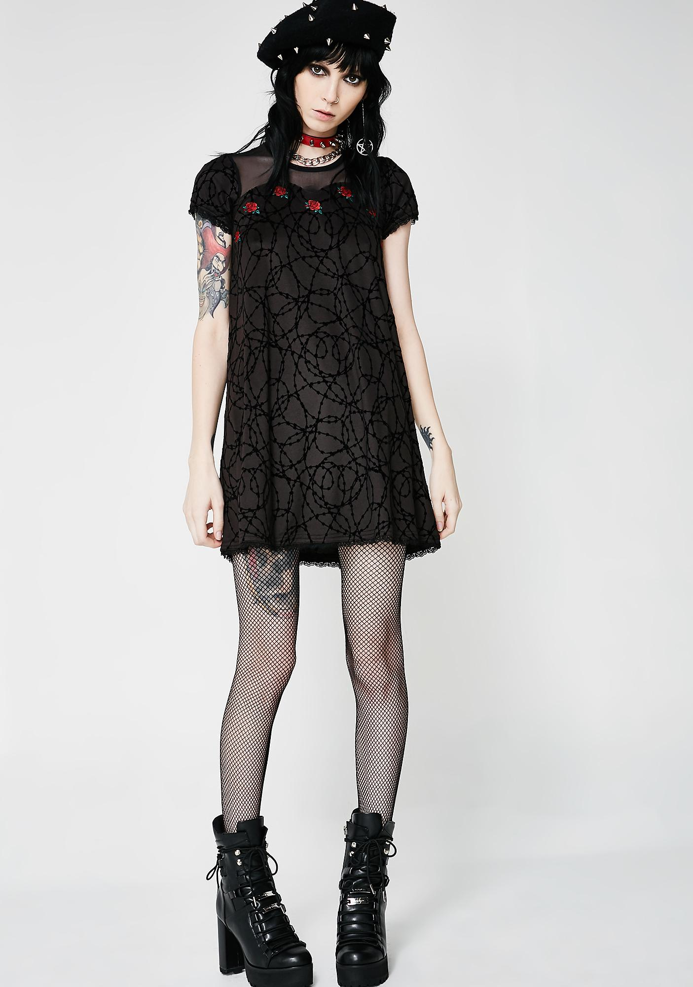 Fearless Illustration Thorn In My Side Bambi Dress