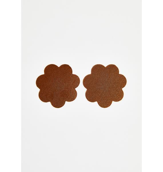 Neva Nude Chocolate Nude Back To Baesics Petal Pasties
