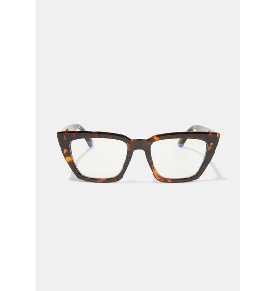 I-SEA Amelia Tort Blue Light Glasses