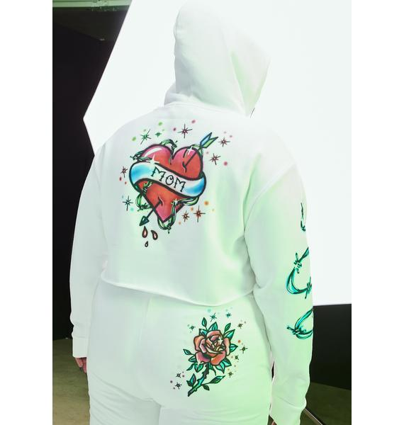 Current Mood Quick Vibe Check Airbrushed Hoodie
