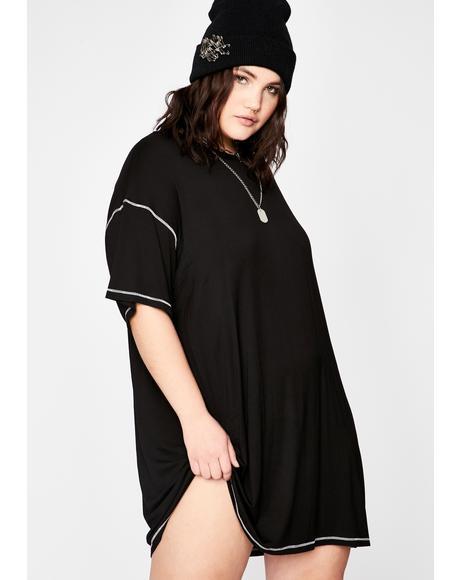 My Untold Tendencies T-Shirt Dress