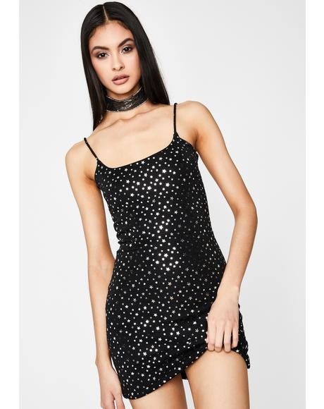 Cosmic Beauty Babe Mini Dress
