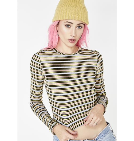 Stoned Yay Area Striped Top