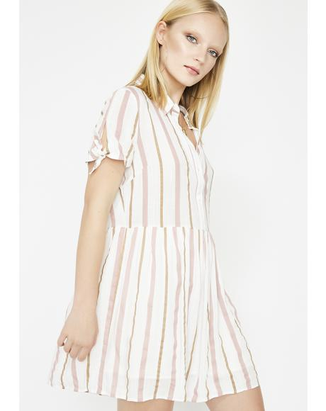 Straight Smitten Babydoll Dress