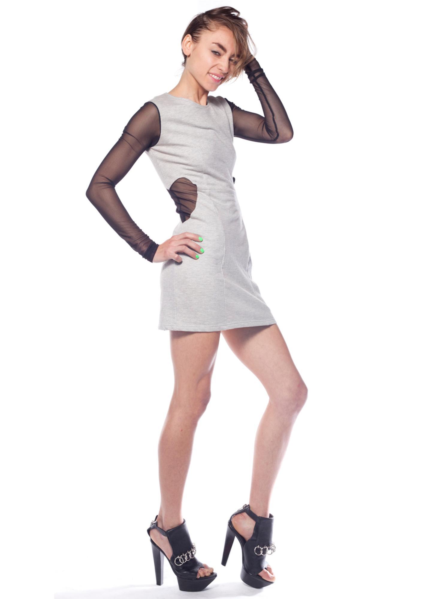 Waist Heart Dress