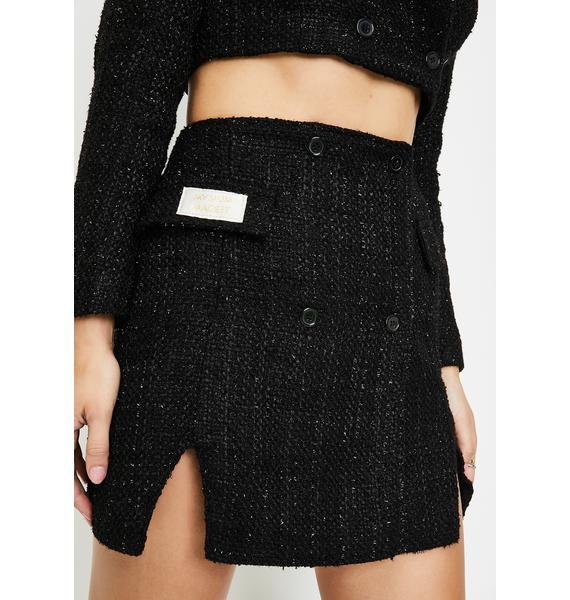 My Mum Made It Sparkle Blazer Mini Skirt