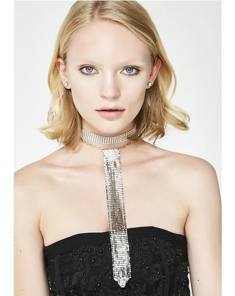 Dressin' Up Chainmail Choker