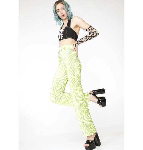 Babydol Clothing Lime Green Trousers