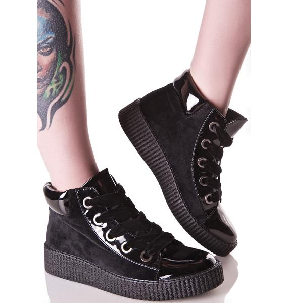 MTNG Conflict Creeper Sneakers