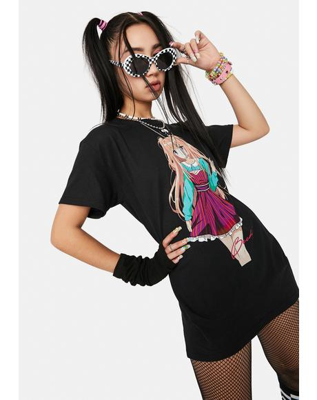 Becky Supermodel Graphic Tee