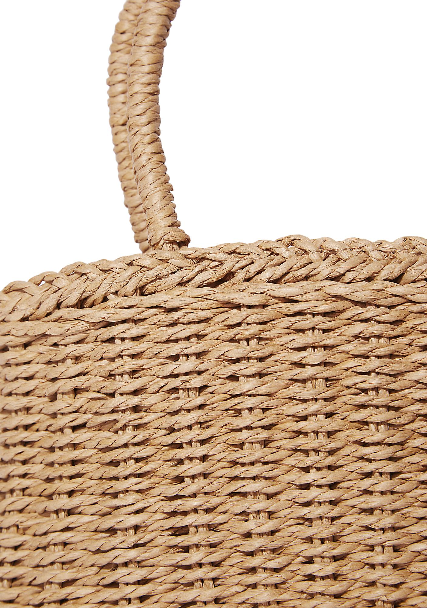 Sunshine Stroll Straw Bag