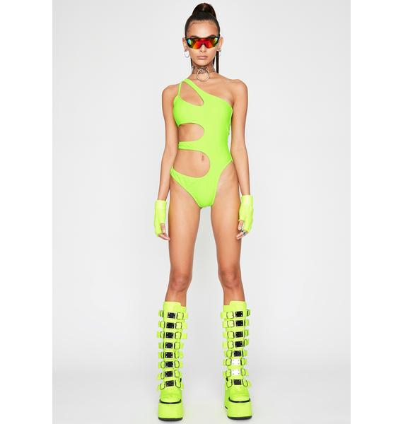 Toxic Awakened Love Cut Out Bodysuit