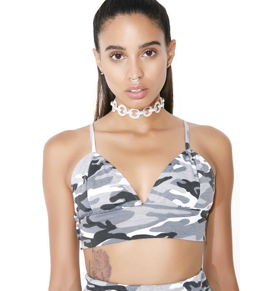 O Mighty Camo Baby Bralette