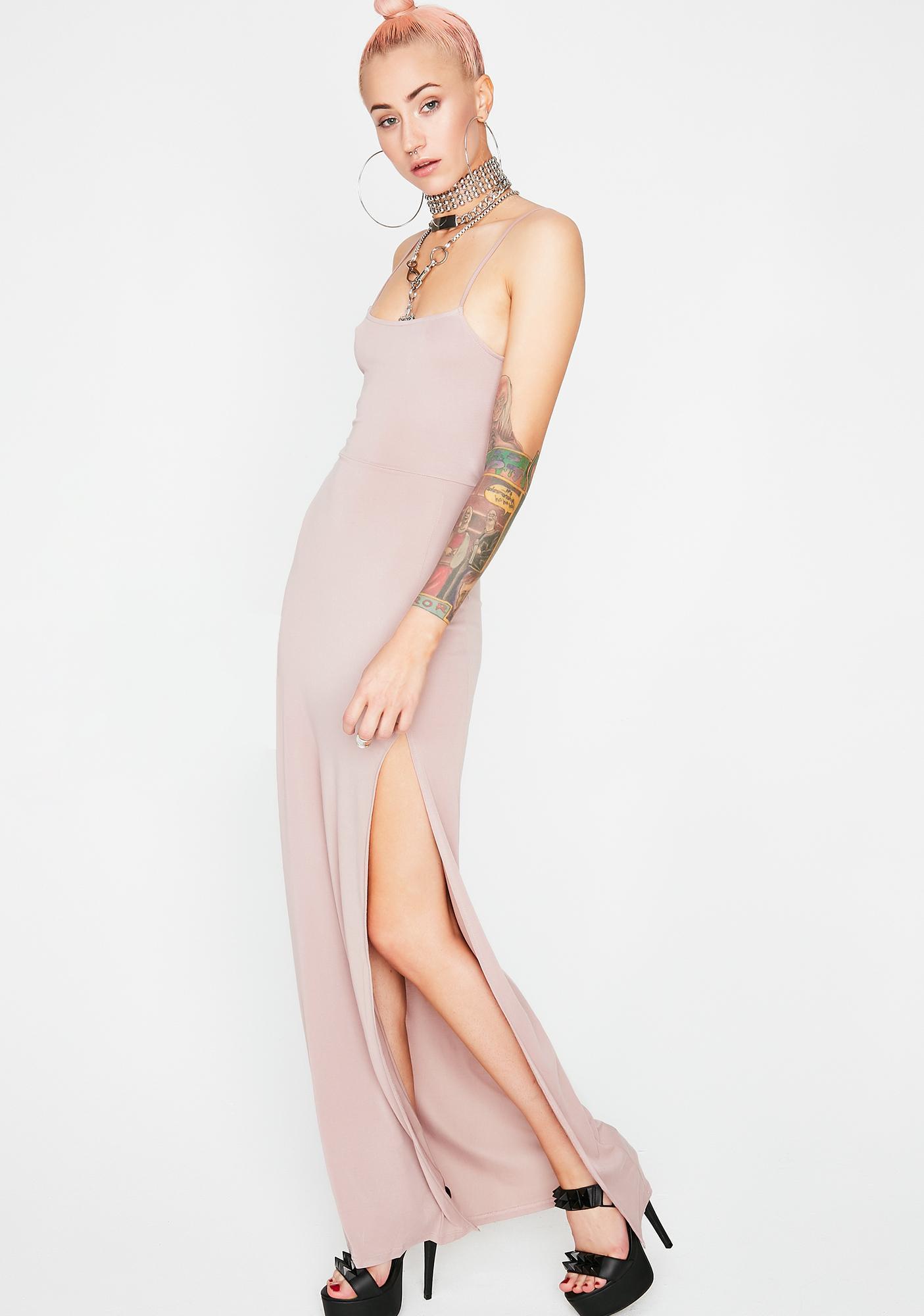 Sweet Keep It Simple Maxi Dress
