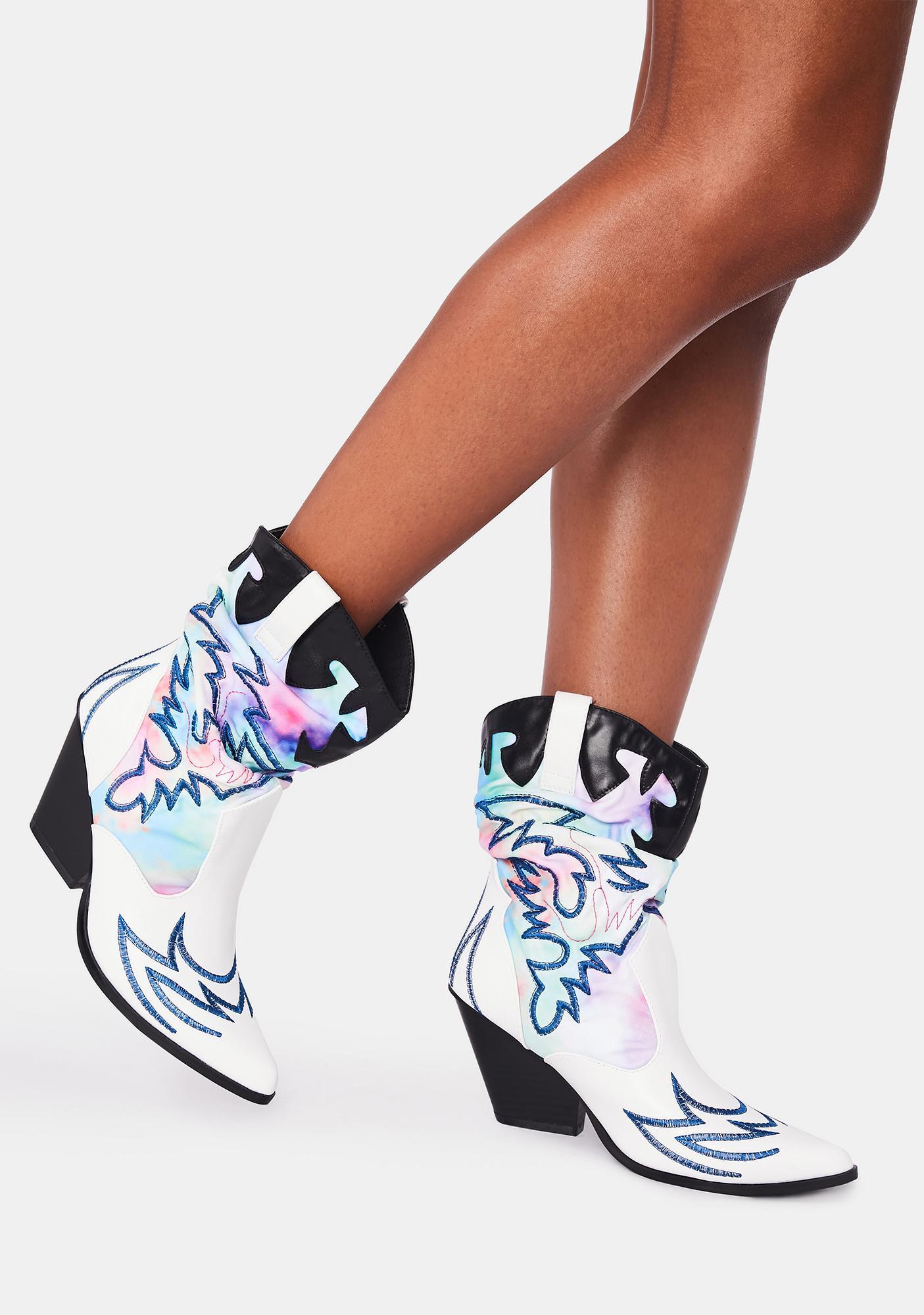 Midnight Cowboy Boots