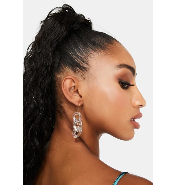 Got The Glow Chain Earrings