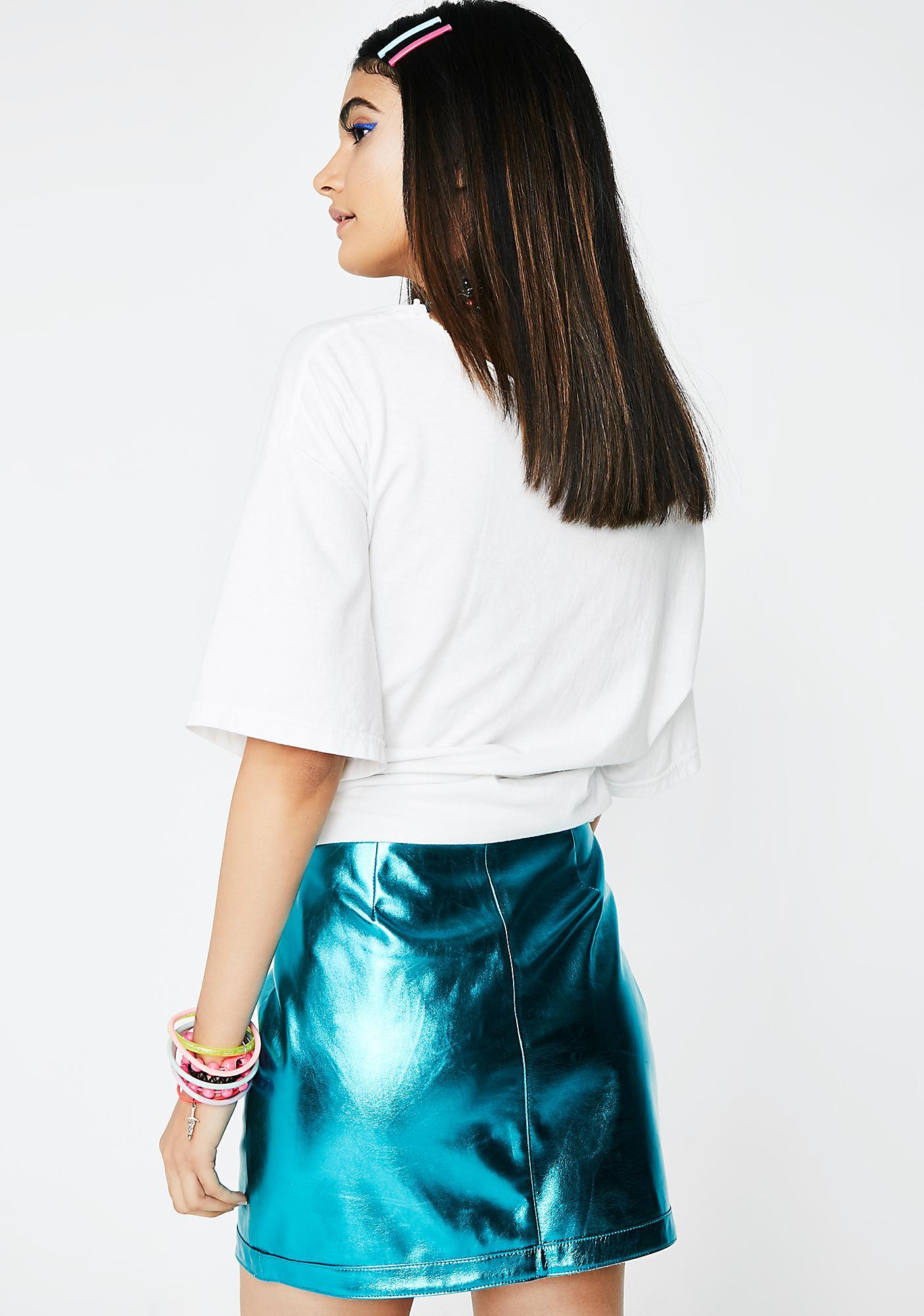 Aqua Electric Feelz Mini Skirt