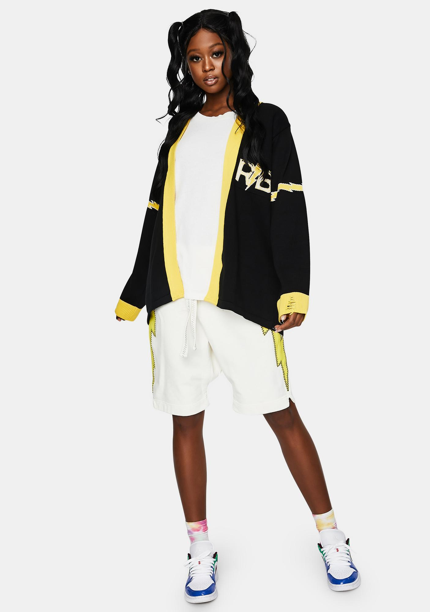 The Rad Black Kids RB Varsity Cardigan