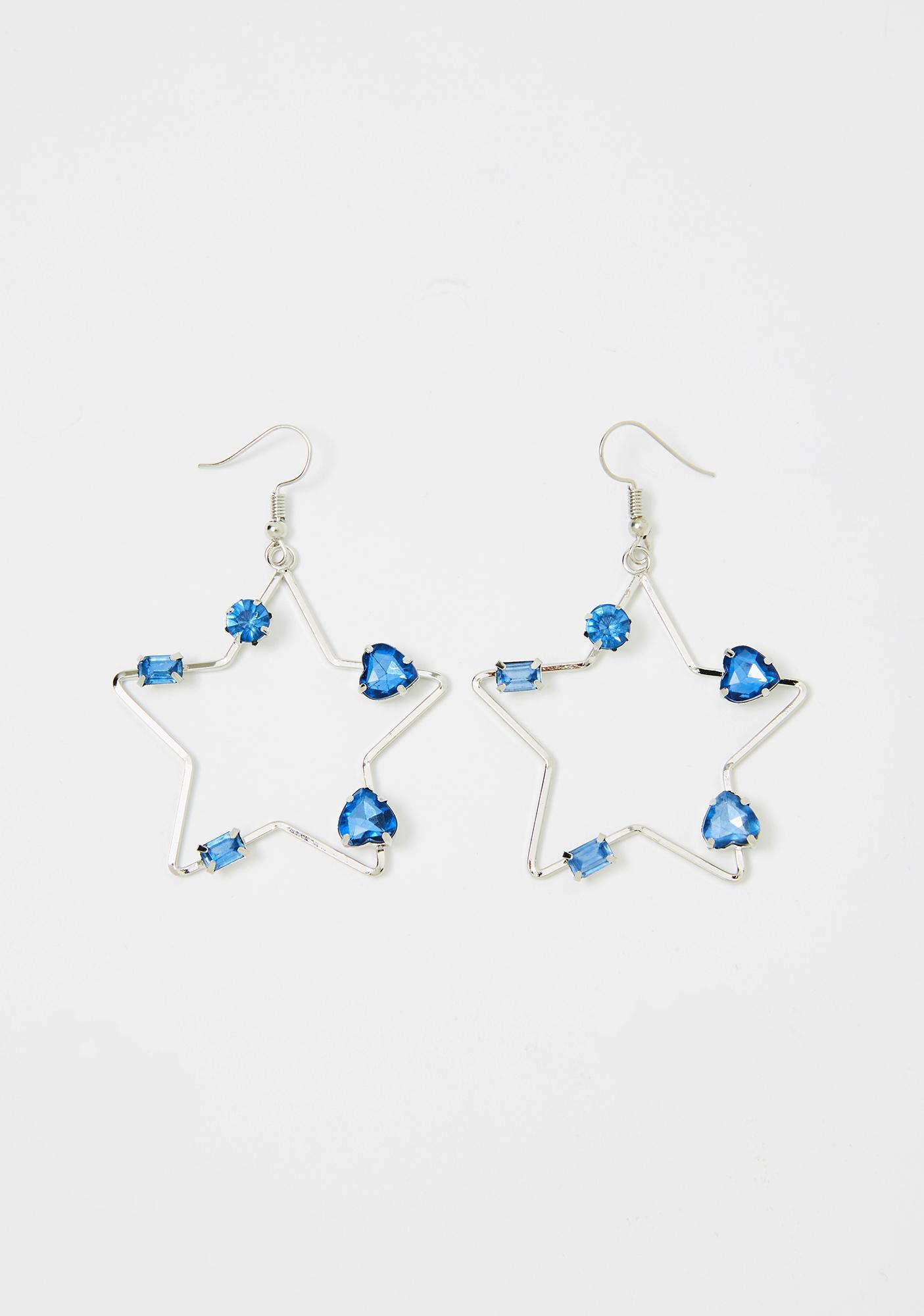Star Bright Drop Earrings