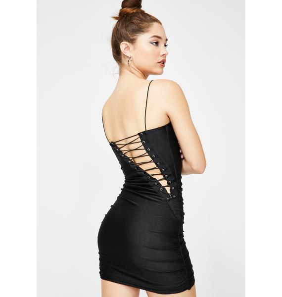 Tiger Mist Vienna Lace Up Dress