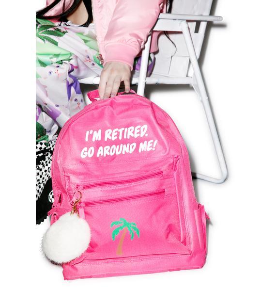 Danielle Guizio Retired And Kinda Inspired Backpack