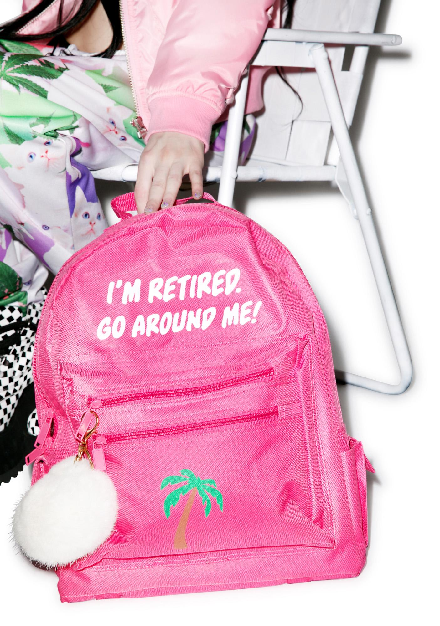 Danielle Guizio Retired And Kinda Inspired Backpack