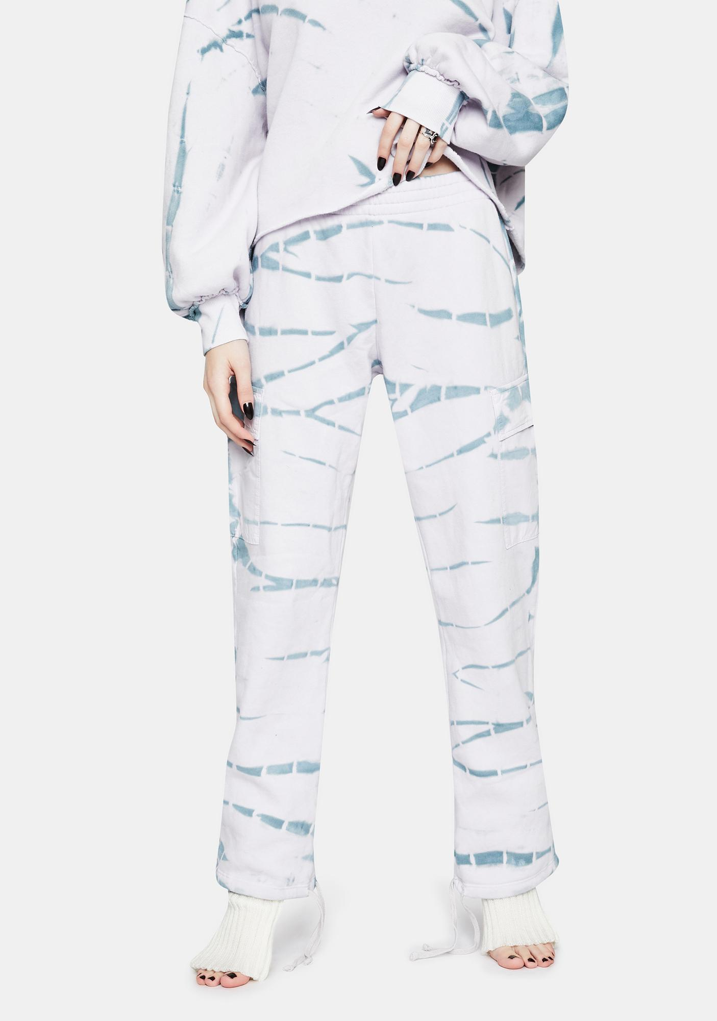 Wildfox Couture Nikki Tie Dye Cargo Pants