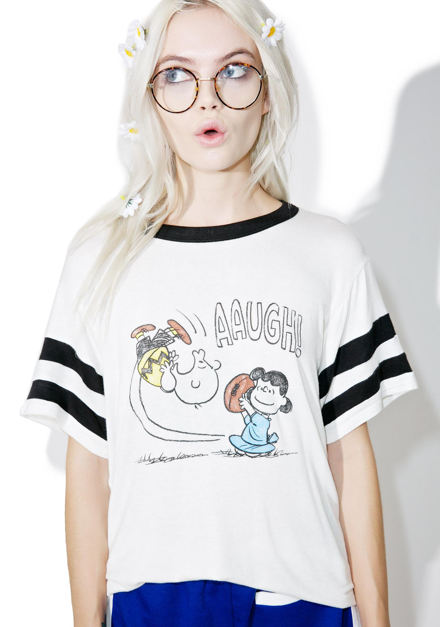 Daydreamer Lucy Football Tee