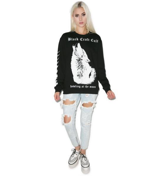 Blackcraft Wolf Howl Sweatshirt